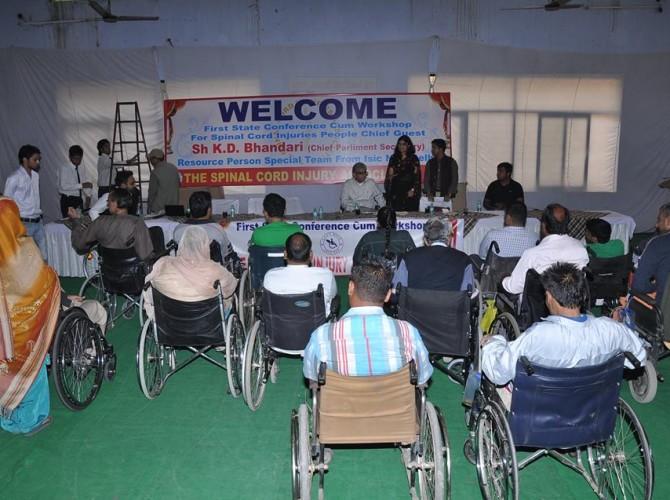 Shri KD Bhandari in Conference cum Workshop