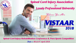 VISTAAR 2018 - 4th International Spinal Cord Injury Rehabilitation Conference & Para Sports Competitions